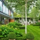 Contemporary garden designed by Sallis Chandler